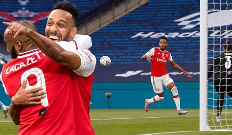 Watch: Aubameyang finishes off two brilliant moves as ...