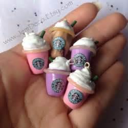 Mini Starbucks Clay Charm