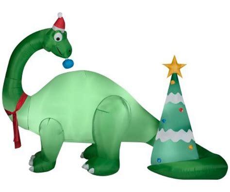 dinosaur christmas outdoor inflatables christmas wikii