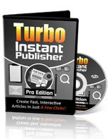 Turbo Instant Niche Templates by Turbo Instant Publisher Pro Software Super Resell