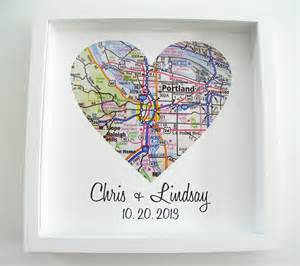 wedding gift wedding gift map framed print by definedesign11 on etsy