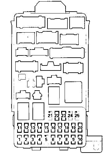 Rsx Fuse Box Diagram by 2012 Acura Tsx Fuse Box Diagram Fuse Box And Wiring Diagram