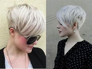 Platinum Blonde Pixie Haircuts - Haircuts Models Ideas