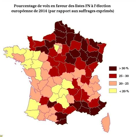 test qui voter la carte du vote fn ou la partag 233 e en deux lib 233 ration