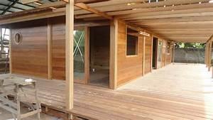 Prix Maison En Bois En Kit : villa construction bois avec mobiteck maison bois massif ~ Nature-et-papiers.com Idées de Décoration