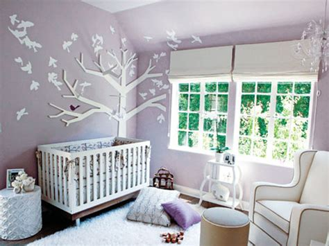 Baby Girl Nursery Decoration Ideas