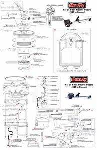 Order Scotty Electric Downrigger Parts Online From Fish307