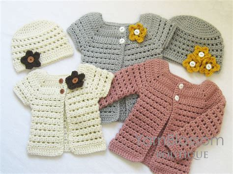 toddler cardigan sweater crochet pattern toddler cardigan beanie 4 by