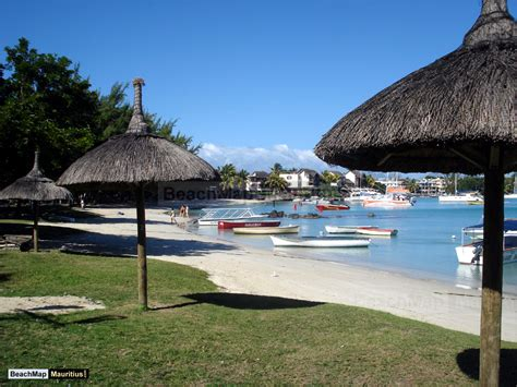 Grand Baie Beach, Grand Baie, Rivière du Rempart.   BeachMap Mauritius.com   Mauritius beach