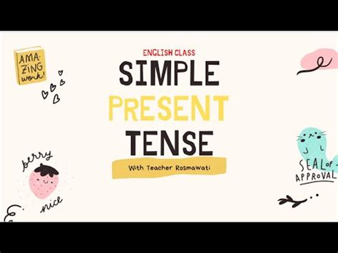 simple present tense youtube