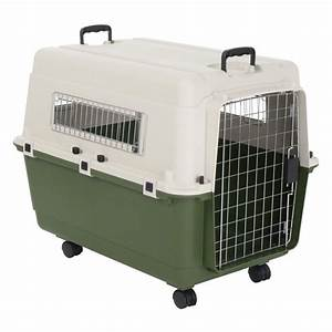Feria transport crate free pp on orders gbp29 at zooplus for Dog transport crate