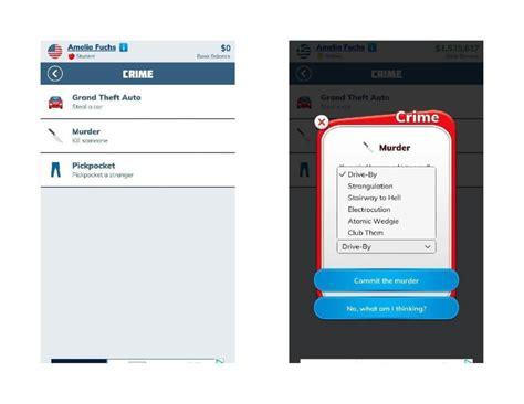 bitlife app game crime note