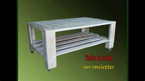 meuble palette bois meubles en bois de palette