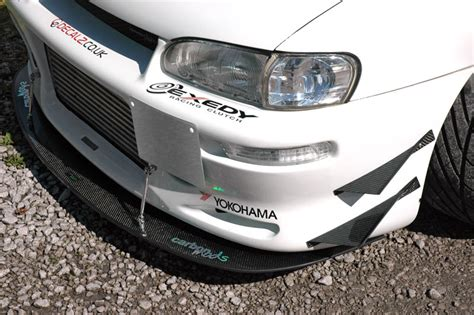 fitted sheet carbon fibre front splitter to suit all vehicles carbon mods