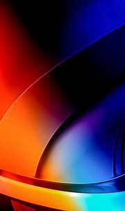 Fractal Blue Orange Shapes 4K HD Abstract Wallpapers | HD ...