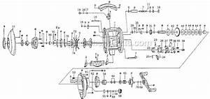 Pflueger Baitcast Lp Reel Wide Spool
