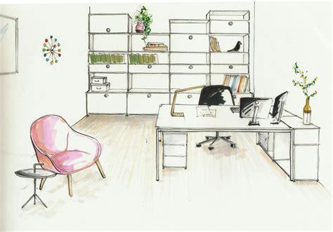 coloriage bureau bureau dessin