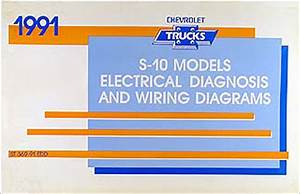 1989 Chevy 1pickup Blazer Wiring Diagram Original