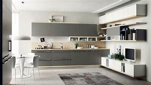 Beautiful Cucine Moderne Bianche E Rosse Pictures ...