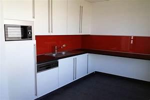 credence pour cuisine rouge maison design bahbecom With credence pour cuisine rouge