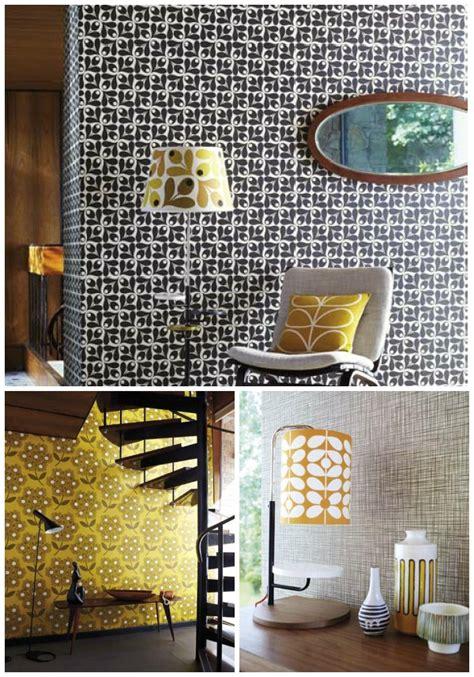 Bedroom Wallpaper Ideas Uk by Orla Kiely For Harlequin Dear Designer