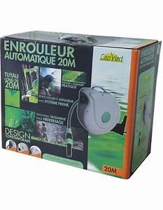 Enrouleur Tuyau Arrosage Brico Depot : enrouleur automatique de tuyau d 39 arrosage 20m ~ Dailycaller-alerts.com Idées de Décoration