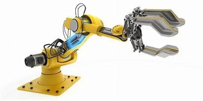 Robot Industrial Arm Robotic Automation Robots Illustration