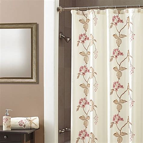 croscill shower curtains croscill 174 shower curtain in bed bath beyond