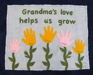 12 Handprint Ideas to make Grandma for Grandparent s Day