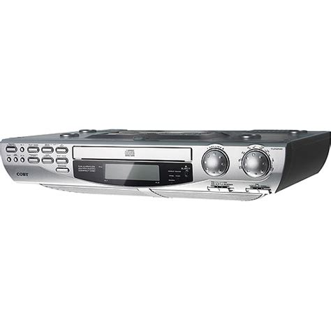 under cabinet radio cd player ipod dock shop for the coby under cabinet cd player for less at