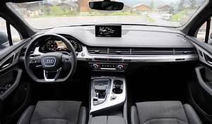 Audi Q7 Interieur : audi q7 notre essai nos photos et les tarifs ~ Nature-et-papiers.com Idées de Décoration