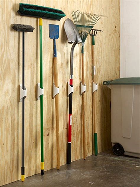 build a yard tool organizer from pvc diy projects for