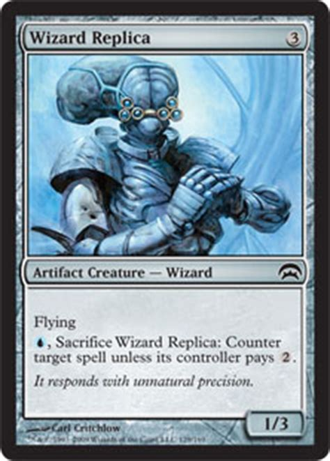 wizard replica planechase gatherer magic the gathering