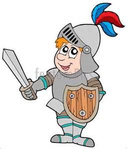 Cartoon Knight Clip Art