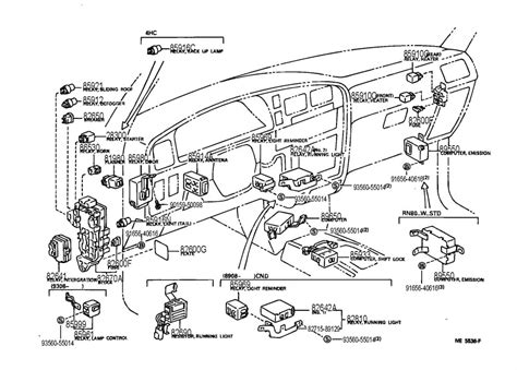 Toyota Camry Tail Lights Wiring Diagram Electrical
