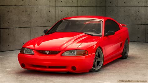 1995 Ford Mustang Cobra R (kwik Version