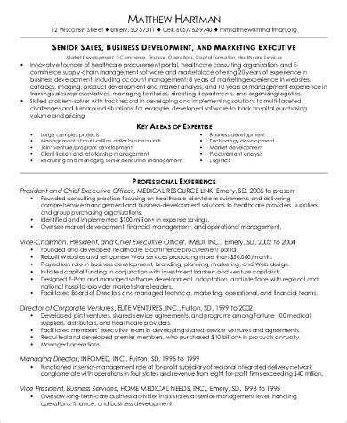 17739 executive resume pdf 7 sle sales and marketing resumes sle templates