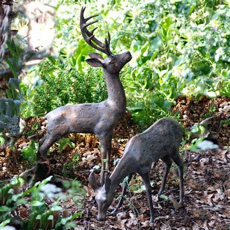 Rattan Deer Garden Decoration by Deer Garden Ornaments I Usually Don T Like Large Animal