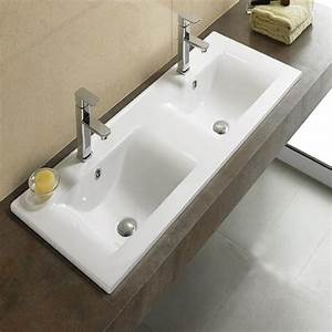 categorie lavabo et vasque page 2 du guide et comparateur With salle de bain design avec vasque rectangulaire encastrable