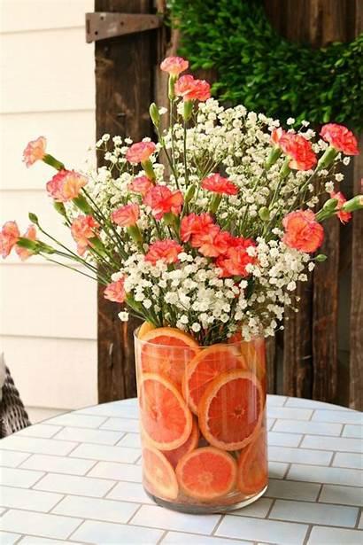 Arrangement Floral Fruit Diy Arrangements Decor Spring