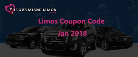 Discount Limo Service by Limos Coupon January 2018 Promo Codes And Deals