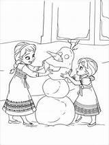 Frozen Kleurplaat Verjaardag Downloaden sketch template