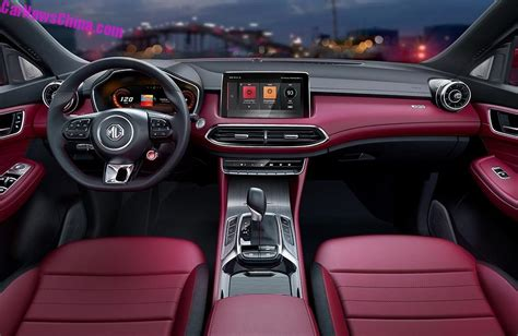 En el new mg hs podrás disfrutar de tu música y tus aplicaciones favoritas, con su sistema multimedia que cuenta con una gran pantalla touch de 10.1. Official Photos Of The New MG HS SUV For China ...