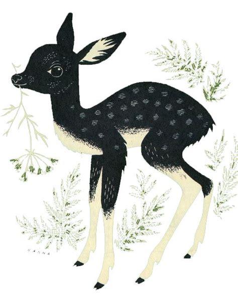 ideas  deer illustration  pinterest deer