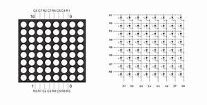 Interfacing 8x8 Led Matrix With Arduino