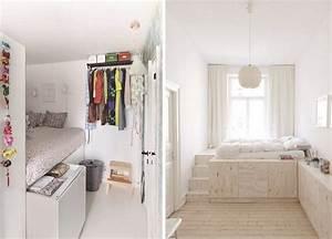 Chambre 9m2 Ikea : chambre d 39 tudiant des astuces pour am nager son 9m2 ~ Melissatoandfro.com Idées de Décoration