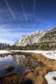 Snow Yosemite National Park California