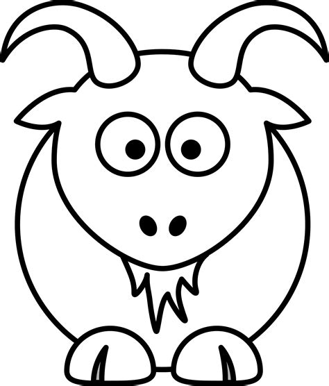goat clipart black and white goat clipart black and white clipart panda free