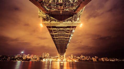 Wallpaper Sydney Harbour Bridge, Sydney, Australia, Bridge ...
