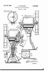 Fan Desk Patent Patents Electric Motor Drawing Driven Pages sketch template